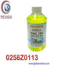 ACEITE REFRIG PAG (150) U/V R-134-A (8 ONZAS) NEVADA USA