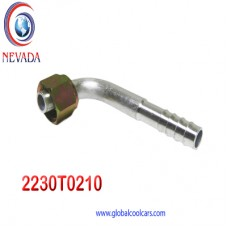 """FITTING UNIVERSAL O-RING # 08 (13/32"""") 90º T/ACERO NEVADA ASIA"""
