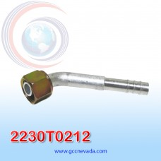 """FITTING UNIVERSAL O-RING # 08 (13/32"""") 45º T/ACERO NEVADA ASIA"""