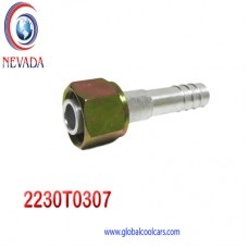 "FITTING UNIVERSAL O-RING # 10 (1/2"") RECTO T/ACERO NEVADA ASIA"