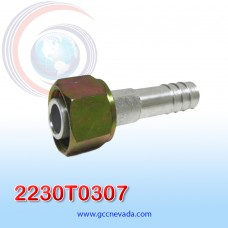 """FITTING UNIVERSAL O-RING # 10 (1/2"""") RECTO T/ACERO NEVADA ASIA"""