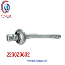 "FITTING UNIVERSAL # 06 (5/16"") 45° C/RAPIDA MACHO NAC"