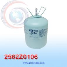 CILINDRO DE GAS R-134-A (13.6 Kg / 30 lb) REFRIX TAZZETTI