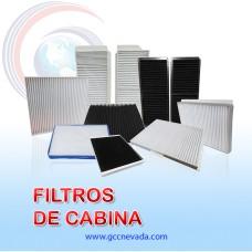 FILTRO DE CABINA CHEVROLET SPARK GT AÑO 05/10 PINHOLE PAPER NEVADA IMP